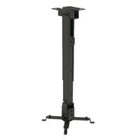 Soporte Proyector techo Traulux 430-650mm, Negro