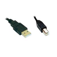 Cable USB 2.0 conectores A-B 5m