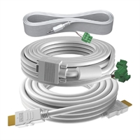 Kit Cables Techconnect TC3 HDMI VGA minijack 3,5, amb cables 10m