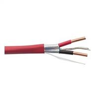 Cable det. incendio 2x1,5 mm2 resist fuego (rollos 100m) naranja con CPR Cca