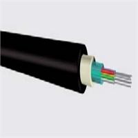 Cable fibra óptica monomodo OS2 9/125 4 fibras cubierta LSHF 1500N int./exterior