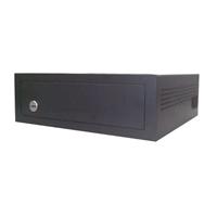 Caja de seguridad para videograbadores pequeños con amaestramiento de llaves 135 x 420 x 350