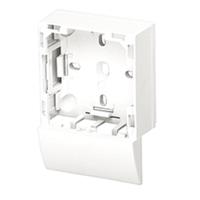 Adaptador lateral Serie 47 Canal 16X10 blanco