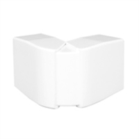 Angle exterior Canal 32x16 blanc
