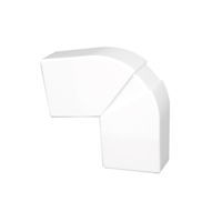 Angle pla variable per a canal 40x12,5 blanc