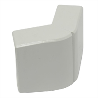 Angle exterior Canal 40x16 blanc