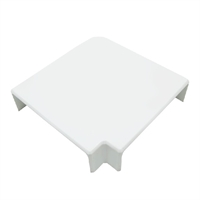 Angulo plano Canal 60x16 blanco