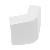 Angle exterior Canal 60x16 blanc