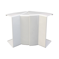 Angle interior variable per canal 110X34 blanc