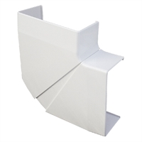 Angle pla variable per canal 110X50 blanc