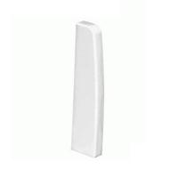 Topall esquerre Canal de sòcol 110x20 blanc
