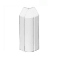 Angle exterior variable per canal sòcol 110X20 blanc