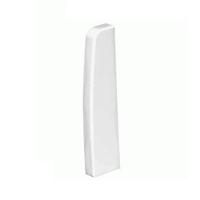 Topall Dret Canal de sòcol 110x20 blanc