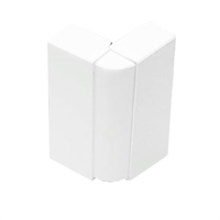Angle Exterior variable per canal 75x20 blanc