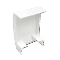 Adaptador lateral Sèrie 3700 Canal 75x20 blanc