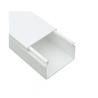 Canal 40x16 sin división interior Blanco