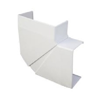 Angle pla variable Canal 90x50 blanc