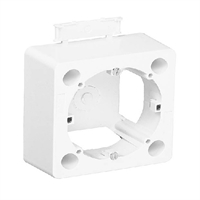 Caixa de superfície per a Sèries Logus 90 i Q45. Blanc