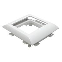 Adaptador Q45 Canals amb tapa L60 /75. Blanc