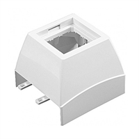 Adaptador Frontal Serie Q45 Canal 60X16 blanc