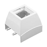 Adaptador Frontal Serie Q45 Canal 60X16 blanco