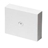 Caja de derivación 80x80x20 blanca para canal serie 10