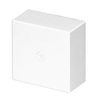 Caja de derivación 110X110X50 blanca para canal serie 10