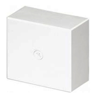 Caja de derivación 80x80x30 Blanco