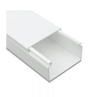 Canal sin división 40x16 cinta autoadhesiva blanco
