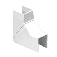 Angle interior variable Canal 25x30 blanc