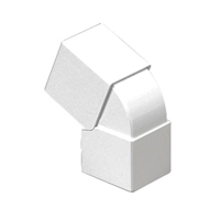 Angle exterior variable Canal 25x30 blanc