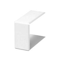 Junta Canal 40x40 blanc