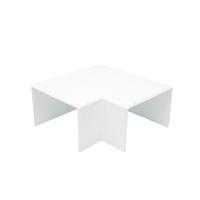 Angulo plano canal 80x60 blanco