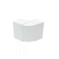 Angle exterior blanc per a Canal 100X40