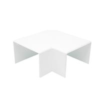 Angulo plano Canal 100x60 blanco