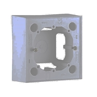 Caja de superficie para serie Logus-90. Gris
