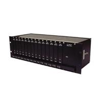 Unidad de recepción de vídeo por fibra óptica MM de 4 canales 19