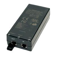 Injector POE 1 Port 802.3af 15.4W 10-100Mbit.