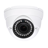 Cámara Domo HDCVI 4 en 1 2Mp 1080p IR30m VF 2.7-12mm IP 66