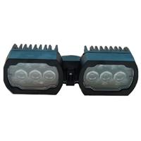 Focus IR/llum visible per a càmeres MIC PTZ ext. reforçada negre