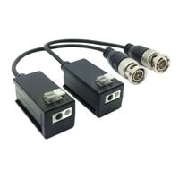 Kit Conversor UTP Vídeo HDCVI/TVI/AHD pushpin (2 unidades)