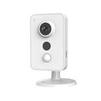Cámara Cubo IP 1.3M DN IR10m 2.8mm Wifi PIR Audio SD E/S