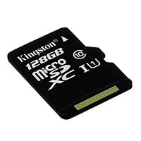 Tarjeta micro-SD Kingston 128Gb Class 10