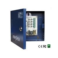 Font Alimentació en Caixa amb clau 12VDC 5A 4ch
