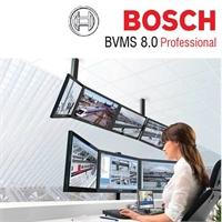Software BVMS professional 8.0. Llicència per 8 canals (ampl.2000) + Llic.2 estacions treball+1 teclat+1 BRS