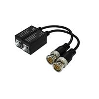 Kit Conversor UTP Vídeo per HDCVI/TVI/AHD/CVBS fins 1080p. Cable Flexible i PushPin (2 uds)