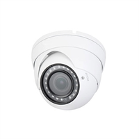 Cámara domo HDCVI 4en1 2Mp D/N ICR IR30m optica 2.7-13.5mm VF IP67