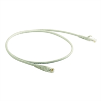 Latiguillo RJ45 Cat 5E UTP LSZH 0,5 m gris