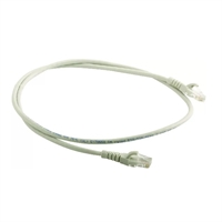 Latiguillo RJ45 Cat.6 UTP 0,5m Gris