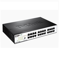 Switch 24 ports 10/100/1000Mbps No Gestionable Gigabit DGS-1024D